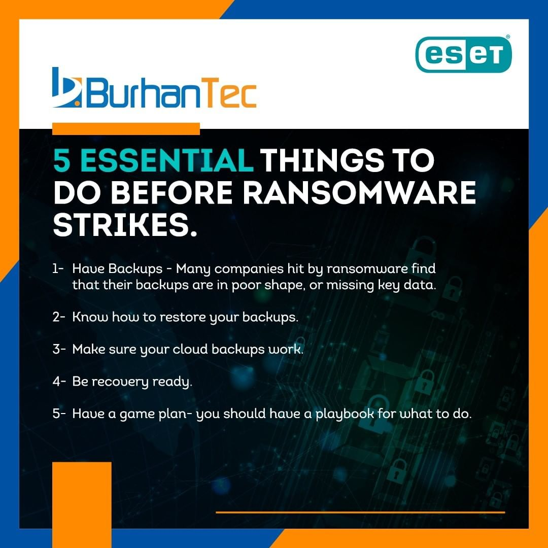 5 Essential things to do before Ransomware Strikes